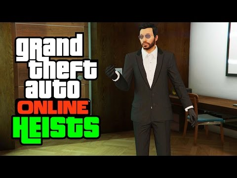 GTA 5 Heists Funny Moments - (Bad Teamwork, Armoured Truck, Turning Gay!)