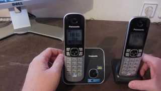 PANASONİC KX-TG6812 DECT telefon