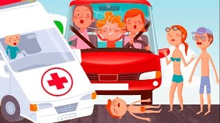 ЧТО НЕЛЬЗЯ ДЕЛАТЬ ДЕТЯМ игровой мультик для ДЛЯ ДЕТЕЙ про детские опасности KIDS CHILDREN