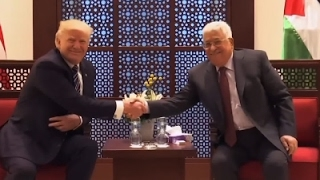 In Visit With Abbas, Trump Urges Mideast Peace