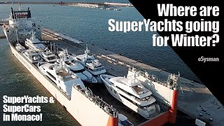 Where are SuperYachts going for Winter?