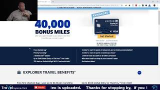 Review of the United Mileage Plus Explorer Card And Travel Safety Tips