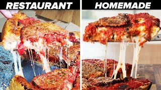We Recreated The Deep Dish Pizza From Our First Date • Tasty
