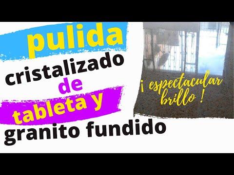 PULIDA DE TABLETA PRENSADA