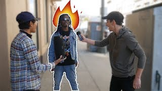 Asking RANDOM People to Freestyle on MY BEATS!! (PART 3)