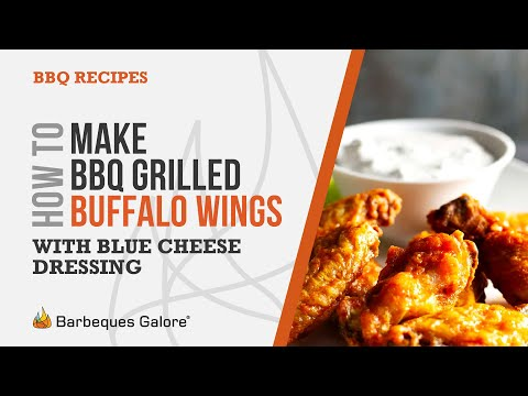 How To Make Bbq Grilled Buffalo Wings With Blue Cheese Dressing Mp3