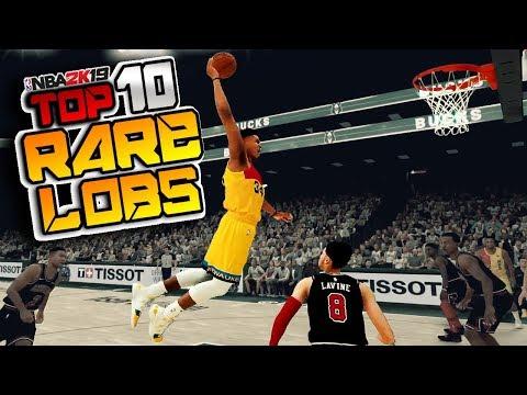 NBA 2K19 TOP 10 RARE LOBS & Alley Oop DUNKS Plays Of The Week #46