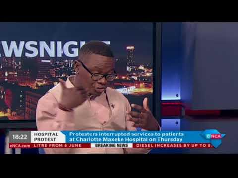 eNCA's Khayelihle Khumalo on Charlotte Maxeke Hospital strike