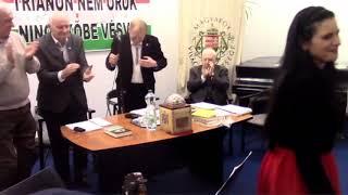 """Patrubány Miklós nemzetpolitikai előadása jeles meghívottakkal – """"Magyar az, akinek fáj Trianon!"""""""