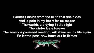 DragonForce - Seasons (Acoustic Version) | Lyrics on screen | HD
