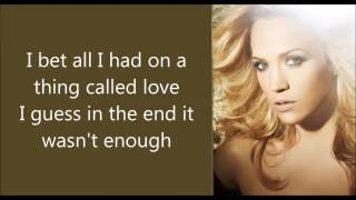 someday when i stop love you carrie underwood instrumental