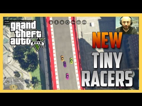 NEW! Tiny Racers mode in GTA V! It's AWESOME!