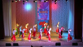 "060 Ансамбль современного танца ""Жемчужина"" І заграє барвами Рідна Земля MOTOR FEST XDANCE 25.11.18."