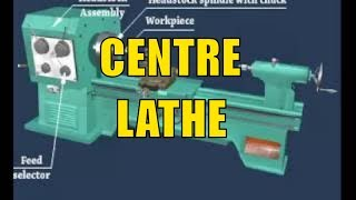 Centre Lathe  |  Name and Function of Lathe Parts