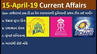 Download Current Affairs 15 April 2019 by Rajesh Bhaskar | Current