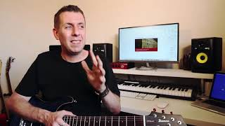 The SECRETS of how to play guitar in a band