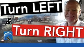 How to Turn Left & Then Turn Right Across Several Lanes of Traffic