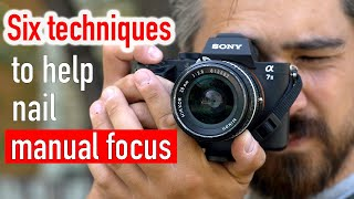 Six techniques to nail manual focus every time (for photo and video)