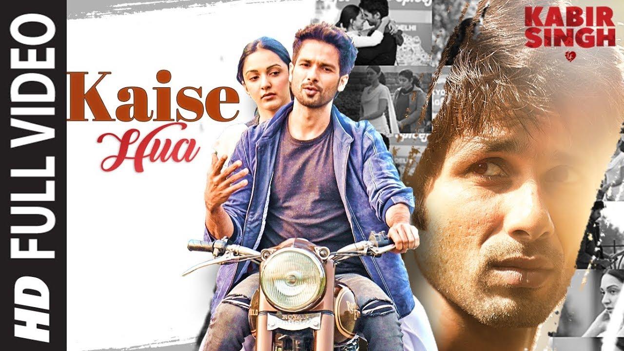 Kaise hua lyrics in Hindi -in English -Kabir Singh -Vishal Mishra -T-Series