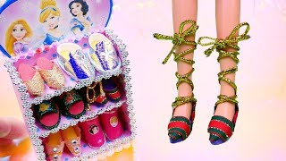 7 DIY Disney Princess Hacks And Crafts / Shoes And Shoe Box Storage