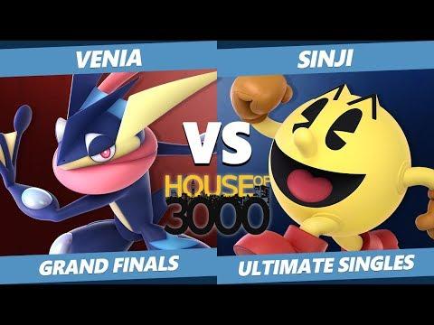 Smash Ultimate Tournament - DA | Venia (Greninja) Vs. DA | Sinji (Pac-Man) Xeno 148 SSBU GF