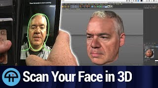 3D Scan Your Face And Body