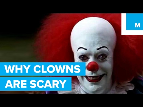 Why Some People are Scared of Clowns – Sharper Science