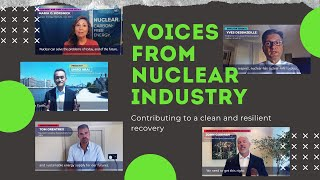 Voices from Nuclear Industry – Contributing to a clean and resilient recovery
