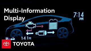 2010 Prius How-To: Multi-Information Display | Toyota