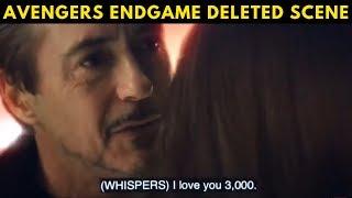 Tony Meets Morgan in Soul World || Avengers Endgame Deleted scene ||