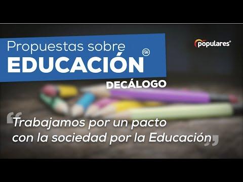 Nuestras propuestas para una educación de calidad y en libertad