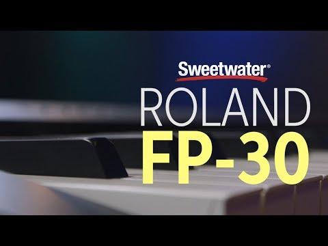 Roland FP-30 Digital Piano Review