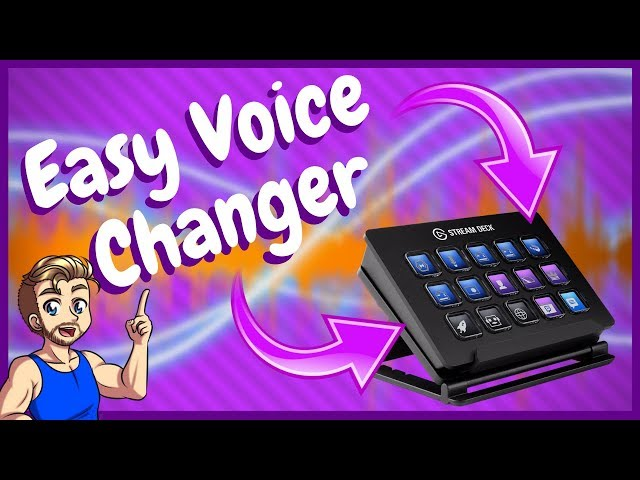 Voicemod Voice Changer for Stream Deck