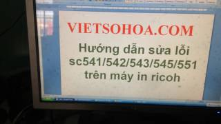 máy photocopy ricoh 2075 báo lỗi sc 542 - Thủ thuật máy tính