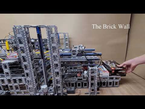 LEGO 神人打造全自動包裝機