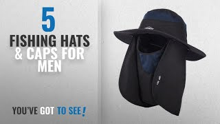 c9a2f023157ce Top 10 Fishing Hats   Caps For Men 2018   Overmont 360 ° Cap Hood Hat
