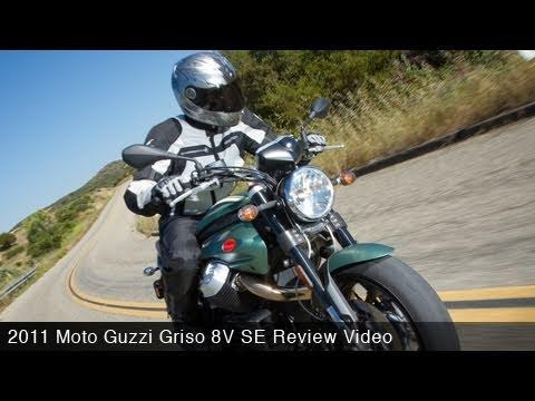 MotoUSA Review:  2011 Moto Guzzi Griso 8V SE