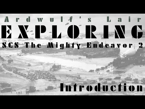 Exploring SCS The Mighty Endeavor - Introduction