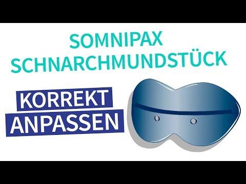 Somnipax Anpassung - Schnarchmundstück korrekt anpassen