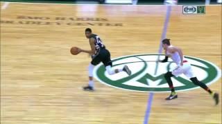 Giannis Antetokounmpo Windmill Dunk! | Hawks vs Bucks | March 24, 2017 NBA Regular Season