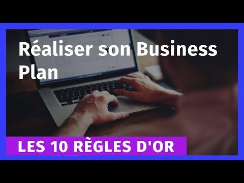 Les 10 règles d'or pour réaliser son Business Plan