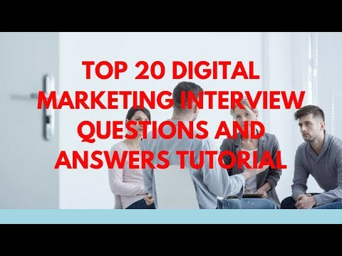 Digital Marketing Interview Questions And Answers 2018