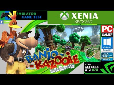 Xenia Xbox 360 Emulator - Banjo Kazooie Nuts & Bolts intro! (6729ec1