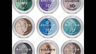 Essence: фиолетовые тени 3. Горный хрусталь.