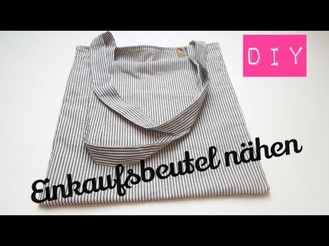 DIY Einkaufsbeutel nähen | Einkaufstasche nähen | Beutel nähen | DIY Kajuete