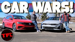 2021 Kia K5 vs. VW Jetta GLI: One Of These Cars Is MUCH Better Than The Other...But Which One? by The Fast Lane Car