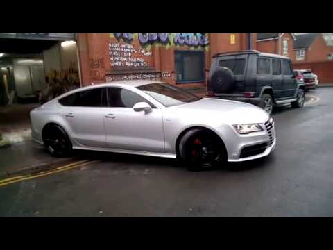 Audi A7 Sportback w/Custom   Tints   Quattro   Alloy   Window Tinting