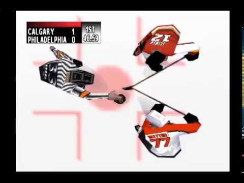 NHL Breakaway '99 Full Game - Calgary Flames vs. Philadelphia Flyers