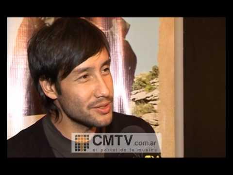 Luciano Pereyra video Entrevista Julio 2012 - Presentación Con Alma de Pueblo