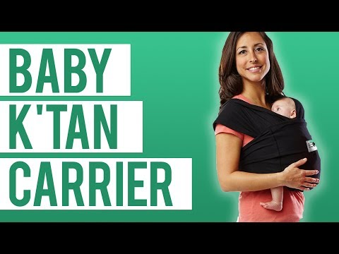 Baby K'Tan Baby Carrier Carrier REVIEW & DEMO!